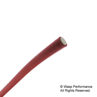 Red Silicone Tinned Copper Core HT Lead