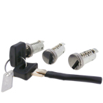 Genuine Piaggio 3 Piece Cylinder Lock Set