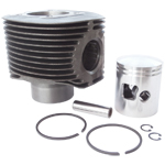 Genuine Piaggio Cylinder and Piston PX200E