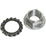 DRT M12 x 1.50mm Clutch Nut and Locking Washer